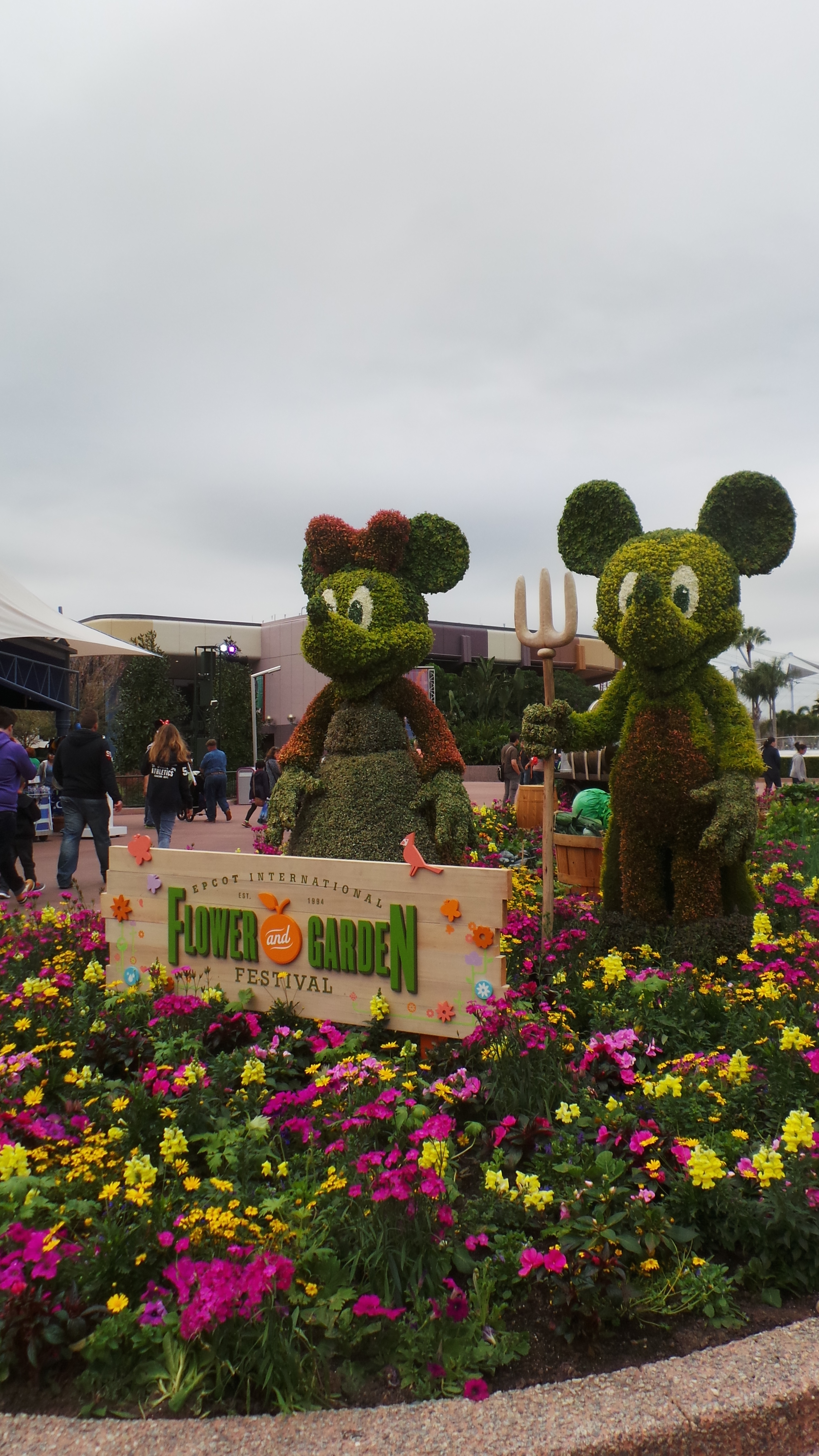Epcot\'s Flower and Garden Festival on a Budget (Literally!) - My ...