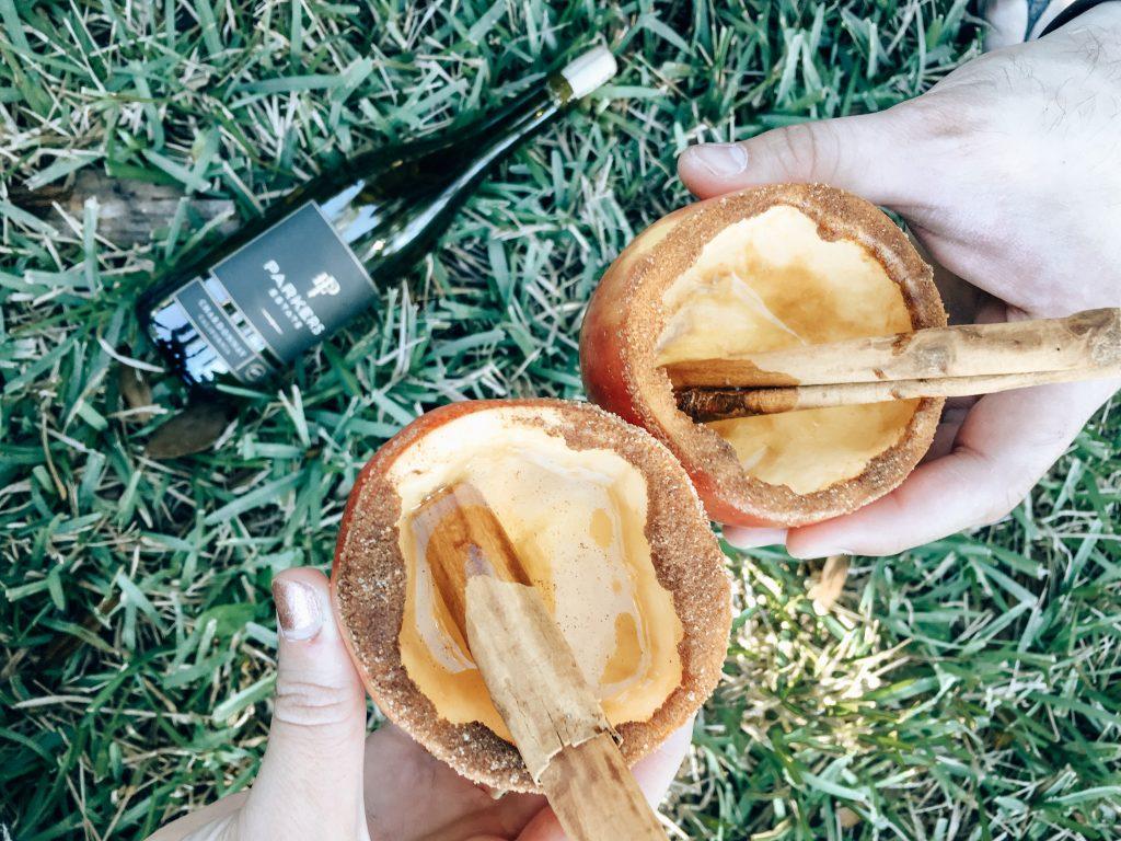 Holiday Recipe: Apple Wine Cups