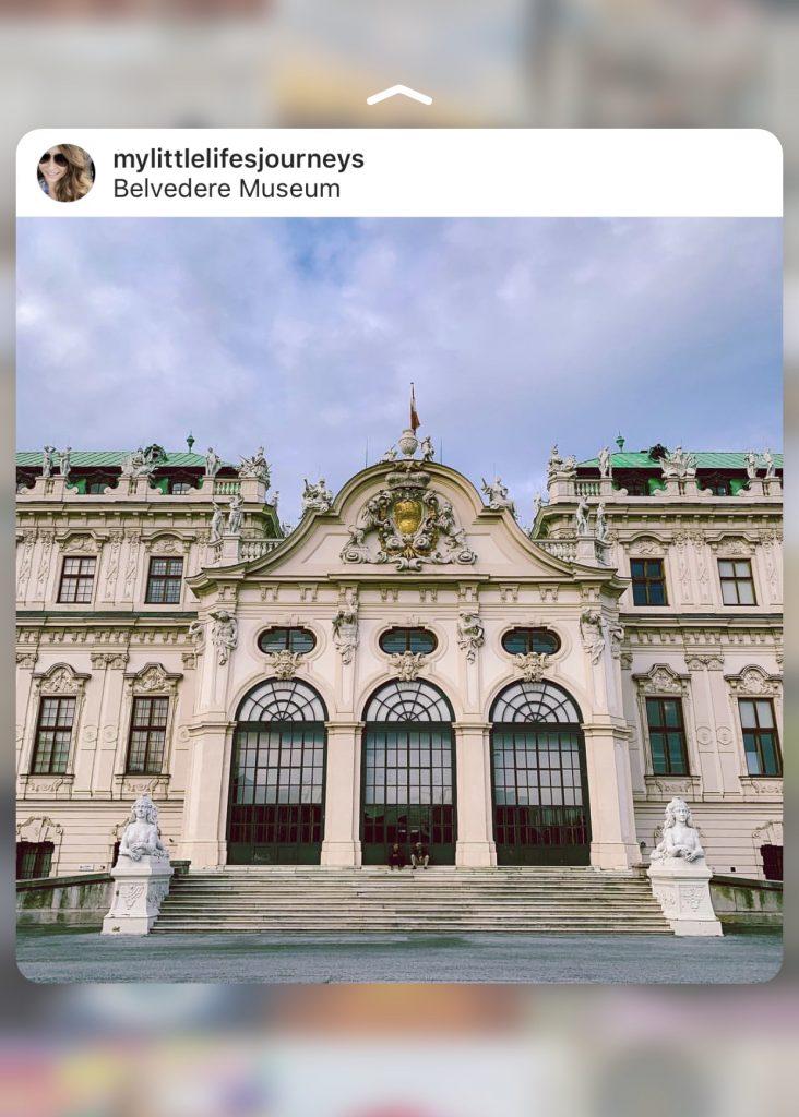 Belvedere Museum Instagrammable Vienna