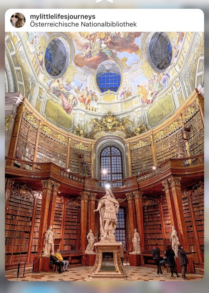 Austria National Library - Instagrammable Vienna