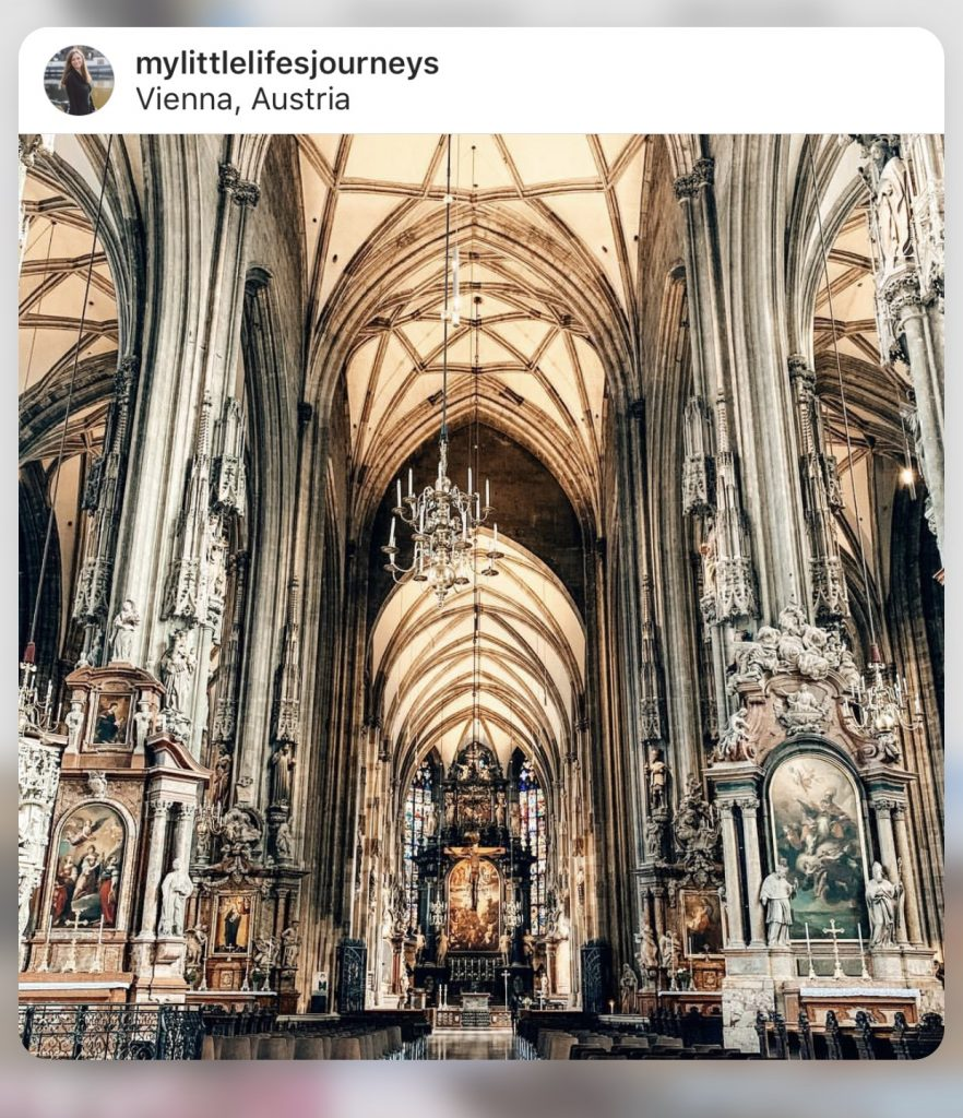Instagrammable Vienna - St. Stephen's Cathedral